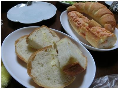 ポンパドールのパン