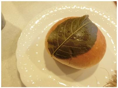 桜餅パン1