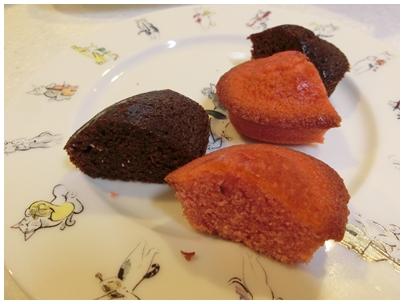 ルーブ焼き菓子3(フィナンシェ ショコラとフランボワーズ)