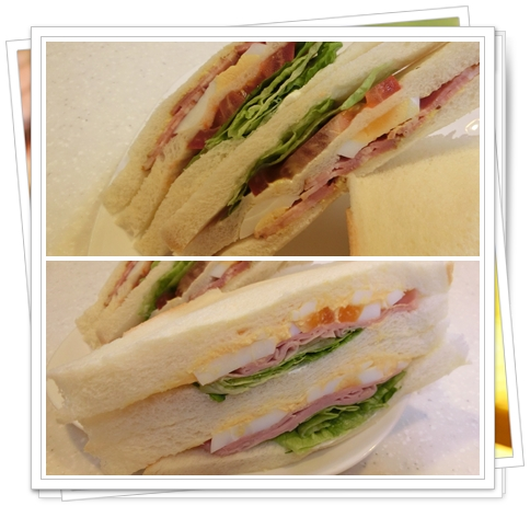ファミマのサンドイッチ3
