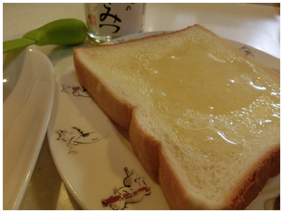 はちみつバタートースト1