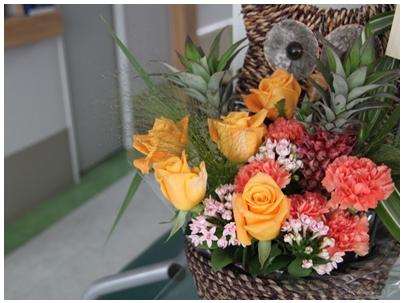 お祝いの花4