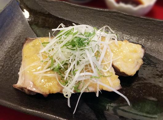 鮮魚の味噌焼き
