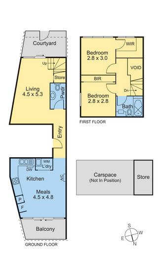 oakleigh floor plan