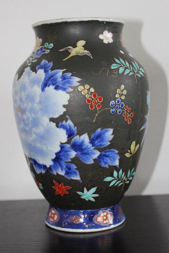 koransha blue flower vase 6
