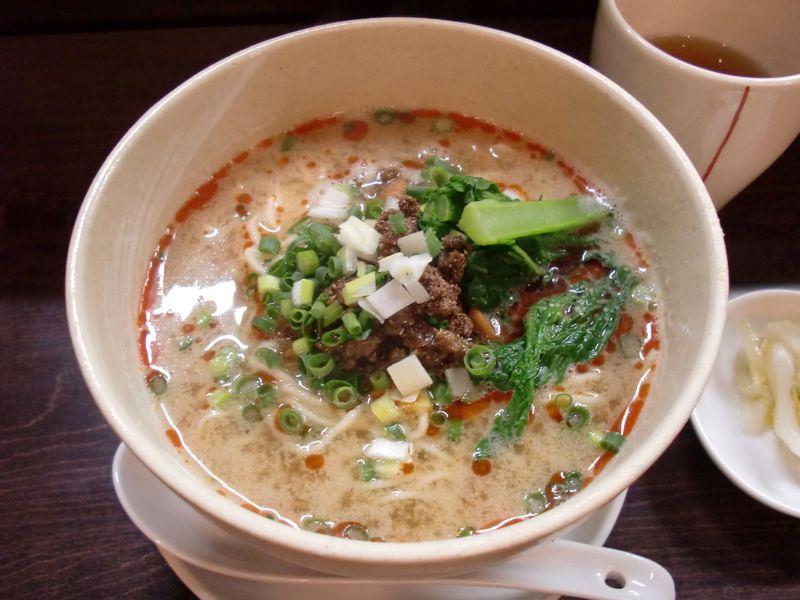 うずまき@赤坂・20150125・担々麺