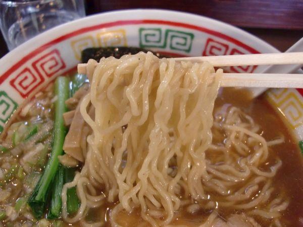 かどふく@三田・20150211・麺