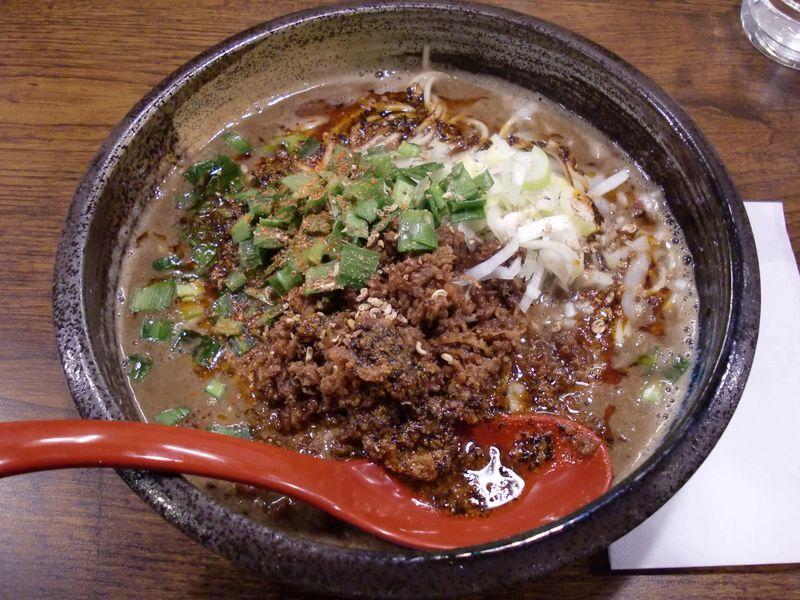 ごま金@御徒町・20150311・担々麺