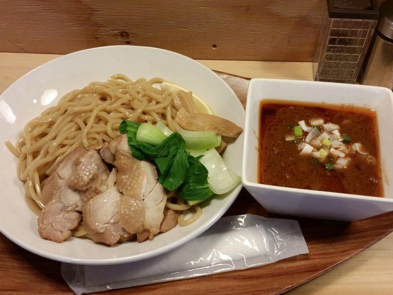 海老須@神田・20150405・海老つけ麺