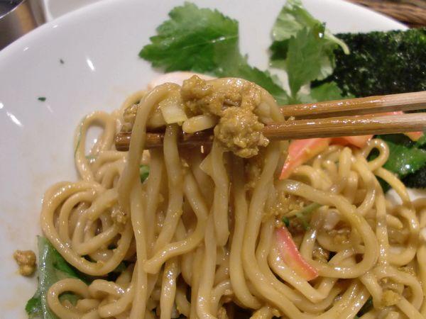 むぎとオリープ@東銀座・20150419・カレー麺上げ