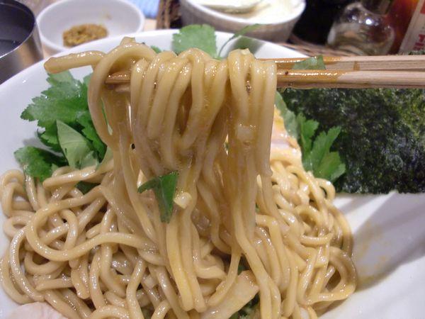 むぎとオリープ@東銀座・20150419・麺上げ