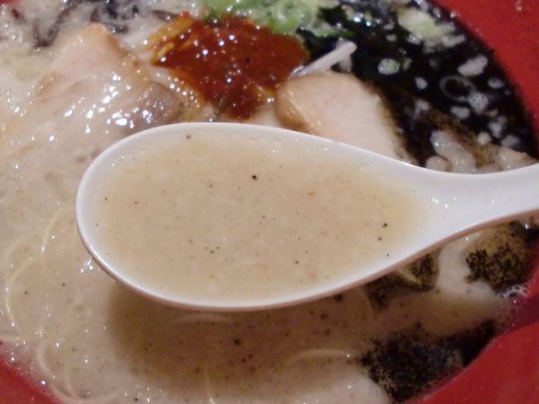 一風堂@豊洲・20150505・スープ