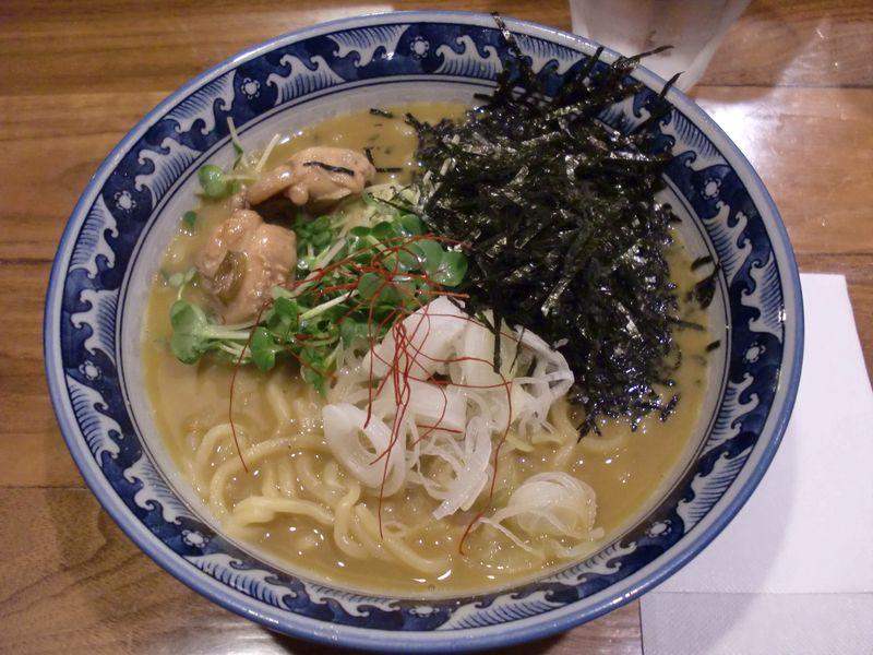 佐市@錦糸町・20150510・牡蠣麺