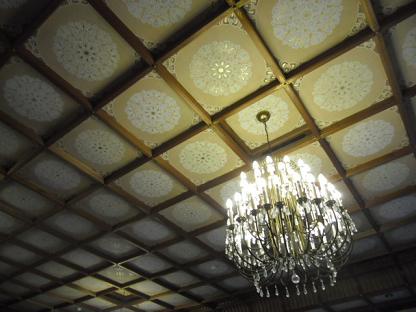 5 飾り天井のみごとさ・・・