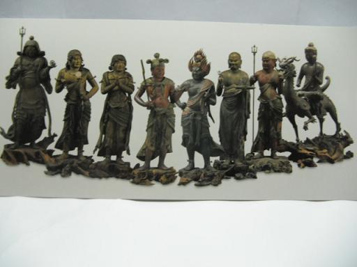 7 運慶による八大童子像