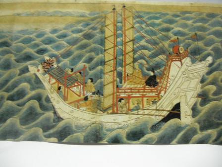 11 弘法大師(空海)が唐に渡る図