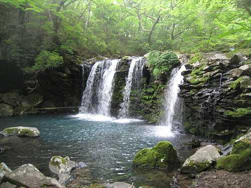 IMG_5202新緑の暮雨の滝