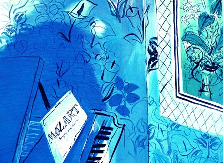 dufy blue mozart