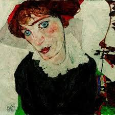 ワリー・ノイツィルの肖像 1912