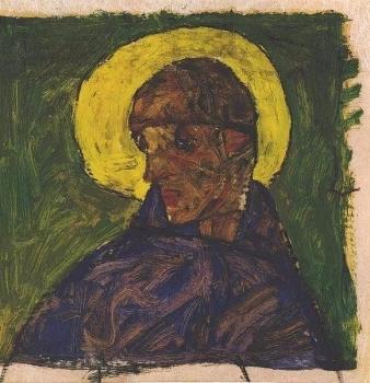 聖セバスティアヌスとしての自画像