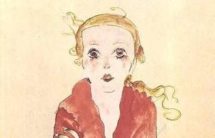 Egon_Schiele-Sitzendes_Madchen-1911 (2)