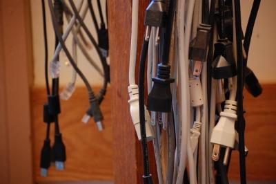 電源 cable