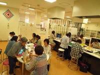 西部ガスエネルギー宗像でのポジャギ教室