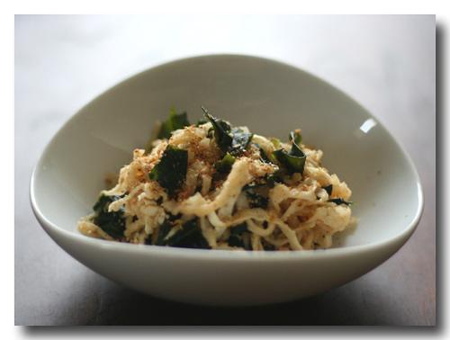 切干大根の甘酢サラダ