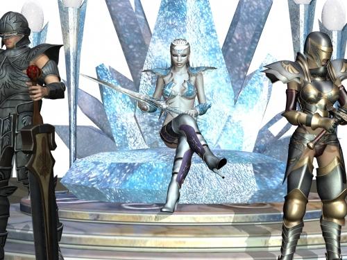 氷の女王さま