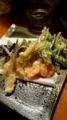 季節の野菜天 イタドリ タラノメ