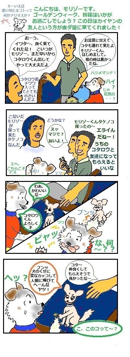 モリゾーちん115 イワタさんとコタ①