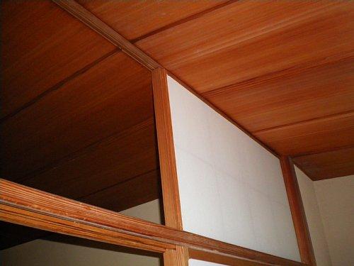 山口蓬春邸・茶の間天井