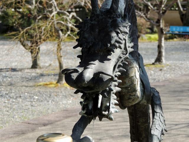 N5534手水舎の龍