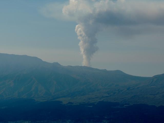 N5698阿蘇の噴煙