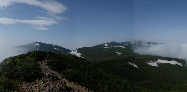 P6220076岩内岳山頂w