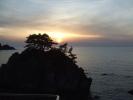 2015060711日本海に沈む夕日