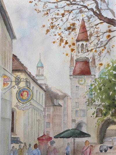 ミュンヘン旧市街地