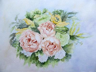芦屋のバラ