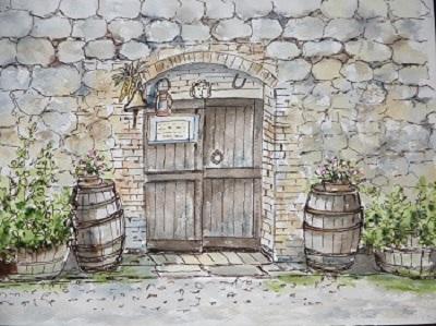 イタリアのワイン農家