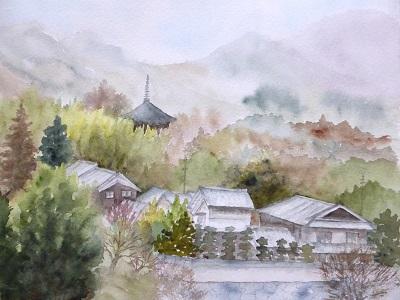 当麻寺横バージョン
