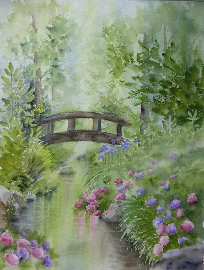 長居公園の紫陽花