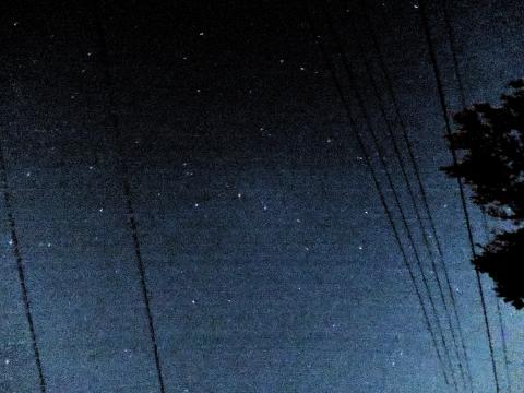 秋田の星空2015555