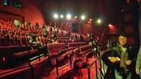 IMAXシアター内。