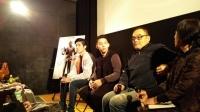 「コードネームは孫中山」左から出演のジャン・ファイユンさん、ウェイ・ハンディンさん、イー・ツーイェン監督。