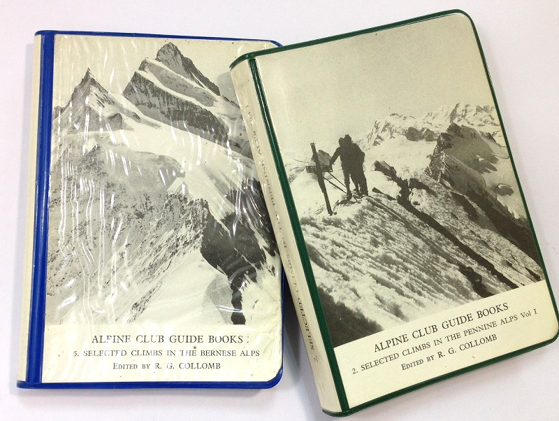 ALPINE CLUB GUIDE BOOKS