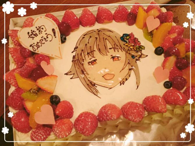 幸子記念ケーキ