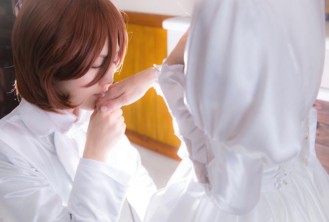 嶺春指キス2
