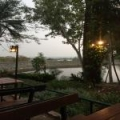 Galae 貯水池とチェンマイ市内風景
