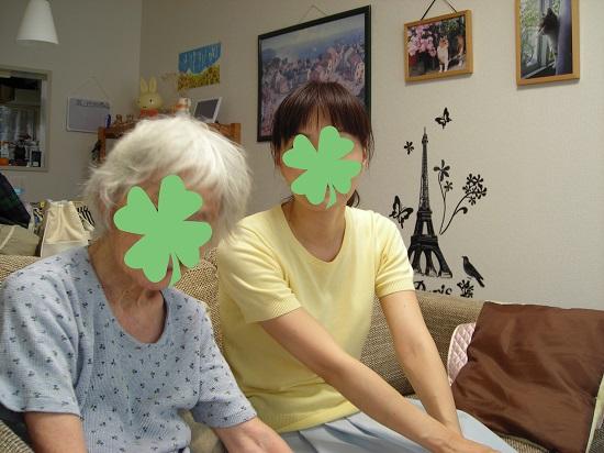 おばあちゃんと2ショット2