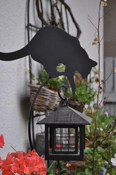 黒猫のランプ